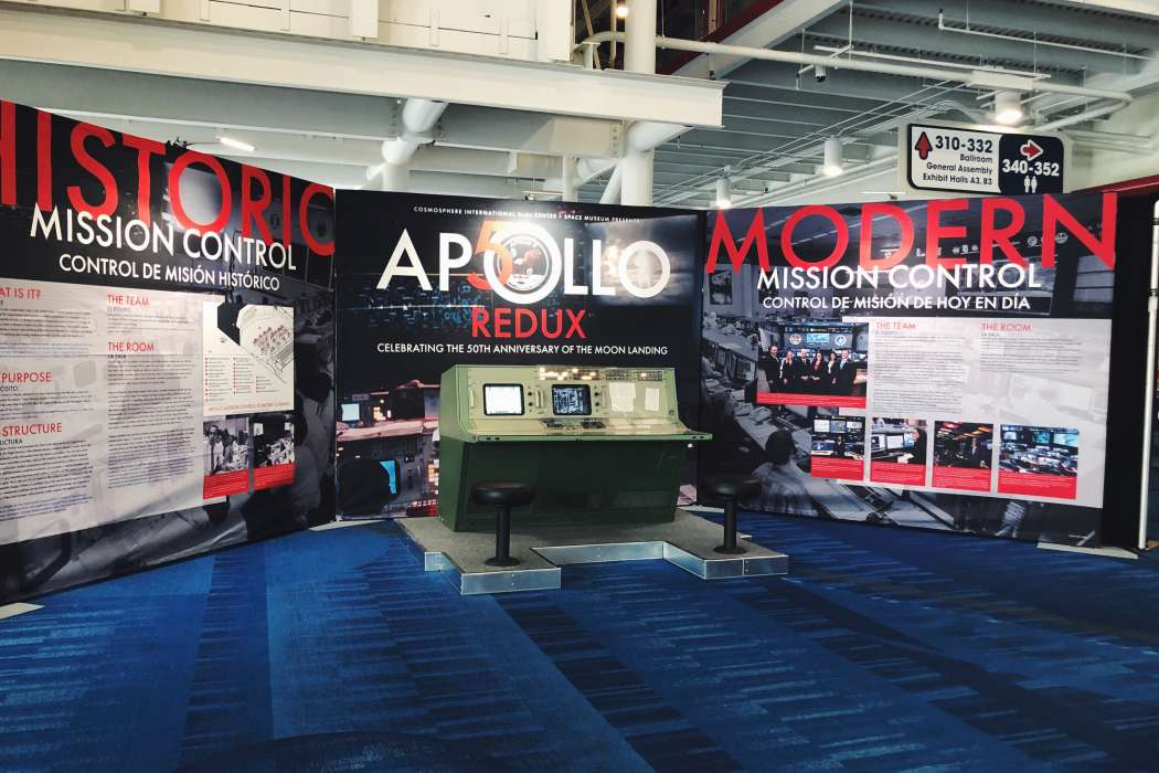 Apollo Redux, Located: George R. Brown Convention Center, Level 3, across from Hilton Skybridge