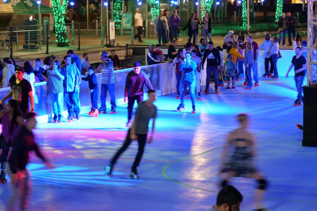 The Roller Rink at Discovery Green