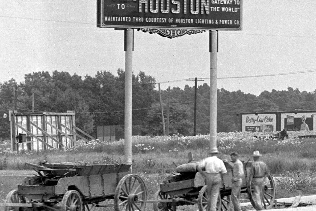 Signage: Welcome to Houston