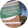 downtown augusta sign