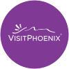 Visit Phoenix Logo Purple