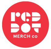 Red Dot Merch Co. Logo