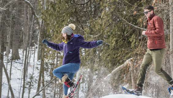 7 Worry-Free Snowshoe Trails