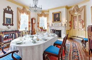 Historic dining room