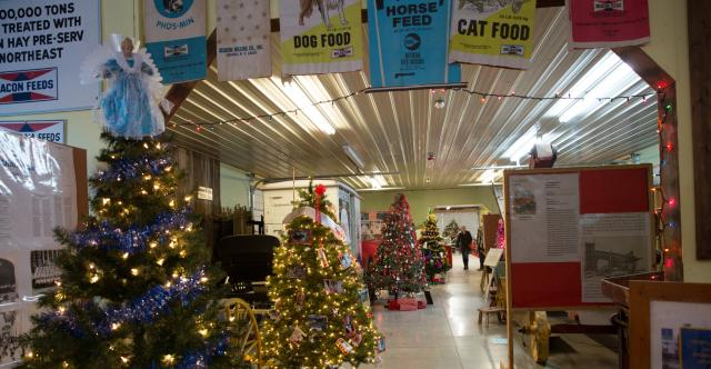 Festival of Trees at the Ward O'Hara Agricultural Museum