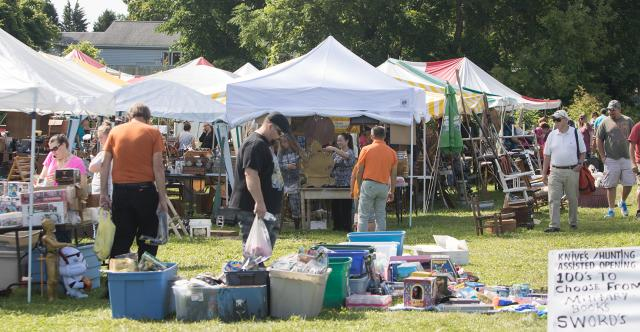 Fifty Mile Garage Sale along Rural Route 90