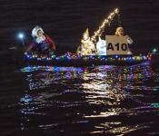 "2019 Hardiest Soul: ""Santa Goes Fishin' with Buddy the Elf,"" Canoe See Me?, Captain Adam Cope"
