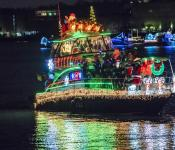 "2019 Most Holiday Cheer: ""Christmas on the Potomac,"" Kairos, Captain Tipper Williams Bradford"