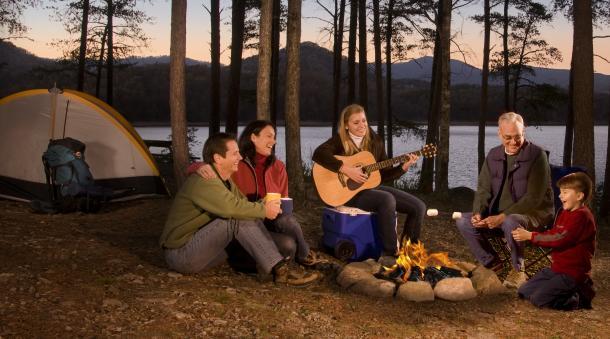 Roanoke Virginia Camping Blue Ridge Mountain Cabins