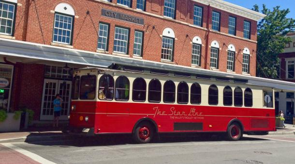The Star Line Trolley | Public Transportation in Roanoke, VA