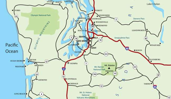 Area Maps - Seattle Southside Regional Tourism Authority