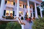 Bellamy Mansion at Christmas