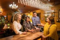 Wine Tasting at Pfeiffer Winery by Michael Sherman