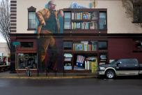 Ken Kesey Mural by Thomas Moser