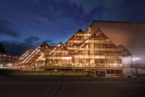 Hult Center at Night by Kazuaki Fuse