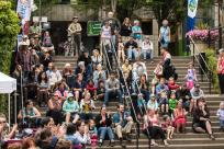 Party in the Plaza Audience, Hult Center, by Ben Schorzman, City of Eugene