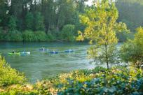 Kayaking the Willamette River by Melanie Griffin