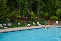Belknap Hot Springs Resort Pool by Melanie Griffin