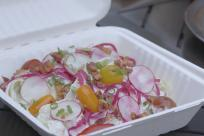 Take out salad from George + Violets by Eugene, Cascades & Coast