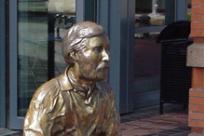 Eugene Skinner Statue by Debbie Williamson Smith