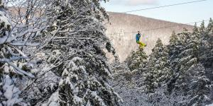 Bristol Mountain Ski Center Aerial Adventure Park and Zip Line Canopy Tours