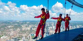 EdgeWalk at the CN Tower with new safety measures