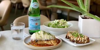 Lasagna at La Palma