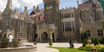Toronto's Casa Loma is a Gothic Revival style mansion and garden in midtown Toronto, Ontario, Canada, that is now a historic house museum and landmark