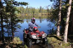 Boulder Mountain Utah Lake ATV Riding