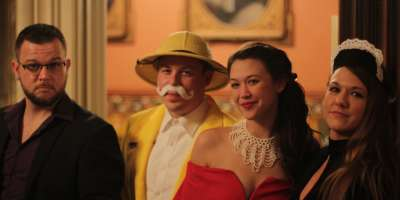 Murder mystery at Culbertson Mansion