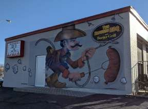 Sheriff of Flavortown Mural