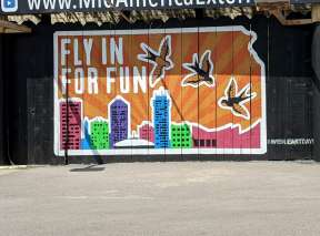 Fly In For Fun Mural