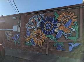 Bee Yourself Mural