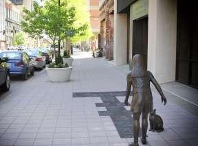 Bronze Sculpture in Downtown Wichita