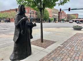 Bronze Sculpture of Carrie Nation