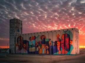 Horizontes Mural in North Wichita