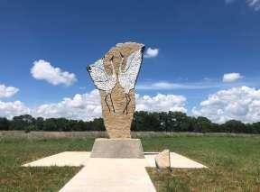 Crane Dance at Sedgwick County Art Walk In Wichita, KS