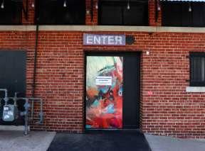 Fire Up! Alley Door by Robin Valenzuela