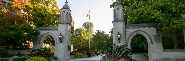 Sample Gates during early fall