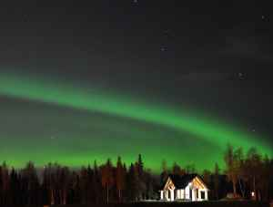 Anchorage northern lights