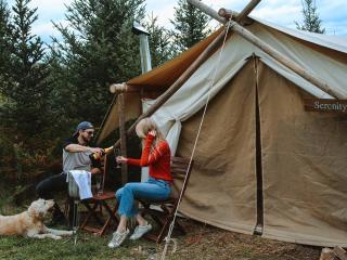 Glamping in the Laurel Highlands