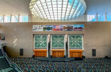 Grand Ballroom in the Salt Palace Convention Center