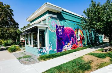 VSL West of Conventional Mural Tour - Chris Peterson at Hip & Humble