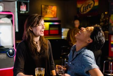 LGBTQ Couple at Club Try-Angles