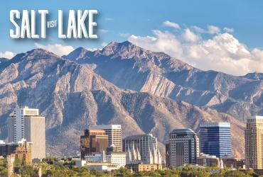Visit Salt Lake Scenic Backdrop for Zoom