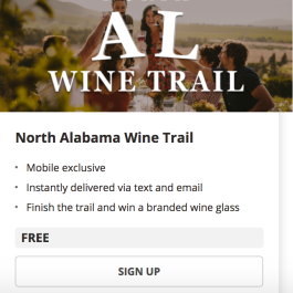 Wine Trail App
