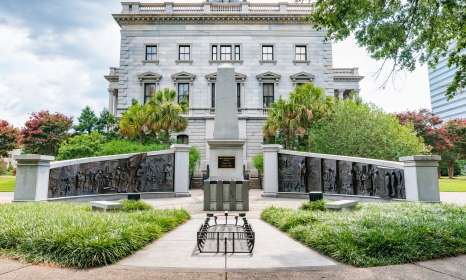 African American Monument at SC State House