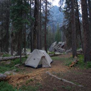 Emerald Lake Camping