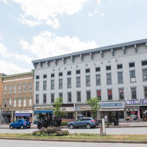 Shopping in downtown Canandaigua