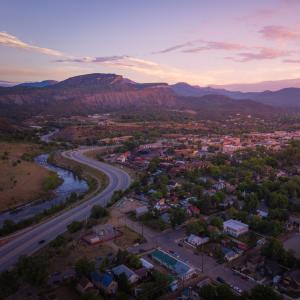Scenic shot of Durango